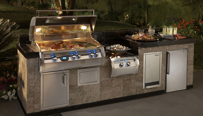 mnssn Gas Grill Inserts Outdoor Kitchens