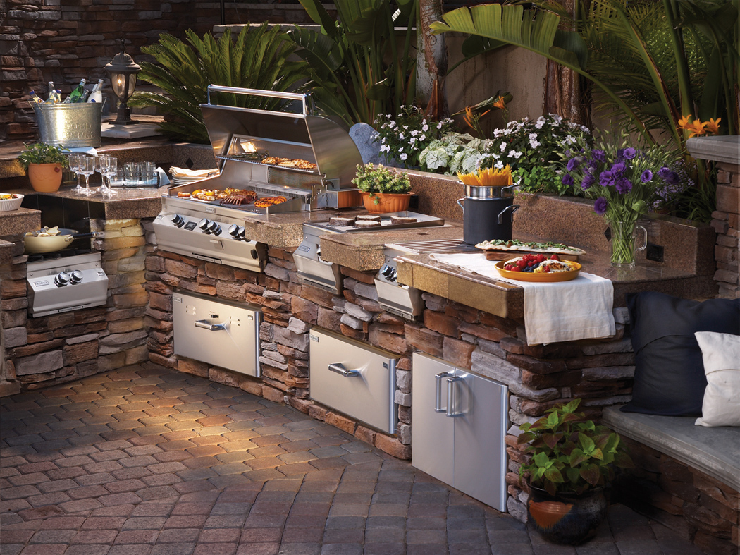 outdoor kitchens outdoor kitchen design firemagic outdoor kitchen